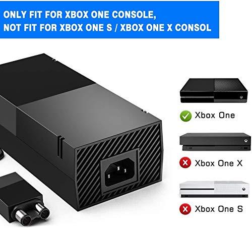 Ansicht vergrößern: Xbox One Netzteil Brick, AC Adapter Ersatz Kit für Xbox 1 Konsolen, DE Ladekabel, Auto-Spannung