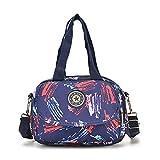 Nuova mini borsa stampa selvaggia spalla singola borsa a tracolla piccola fiore nella borsa della madre borsa femminile sacchetto di colore portatile graffiti di colore