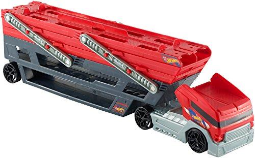 Hot Wheels - CKC09 - Mega Hauler - Camion Transporteur de Voitures sur 6 Niveaux