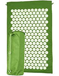 Ultrasport 380100000083 - Colchón inflable, color verde, 90 x 60 x 2 cm