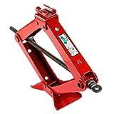2T Gato de tijera capacidad de elevación 2000 kg Rojo