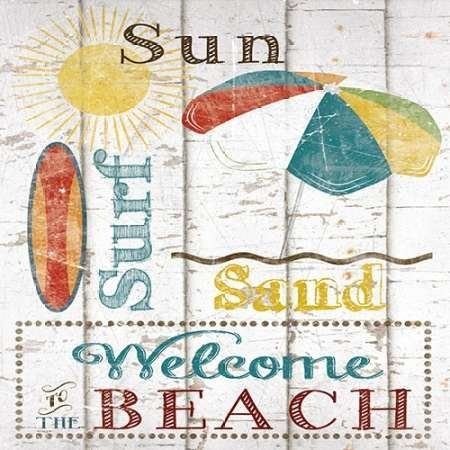 feelingathome-art-print-on-canvas-100cotton-sun-surf-and-sand-cm57x57-stretched-on-wooden-bars