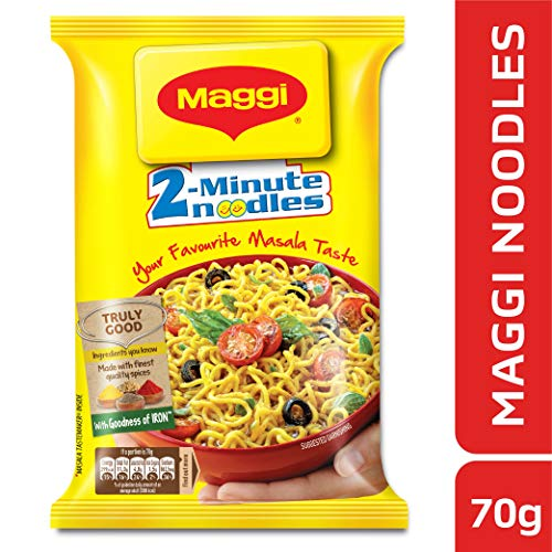 Nestle Maggi 2-minute Instant Noodles, Masala - 70g Pouch