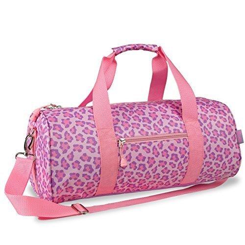 bixbee-sassy-spots-leopard-duffle-bag-pink-large-by-bixbee