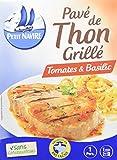 Petit Navire Pavé de Thon Grillé Tomates/Basilic 120 g