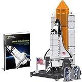 CubicFun Puzzle 3D National Geographic NASA Space Discovery Toy Kit Modello con Libretto, partenza per l'esplorazione per Bambini