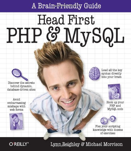 Head First PHP & MySQL (A Brain-Friendly Guide)
