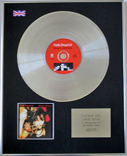 Public Image Ltd–Limited Edition CD Platinum Disc–Flowers of Romance (Image Award)