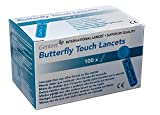 Genteel Butterfly Touch Lancets (100)