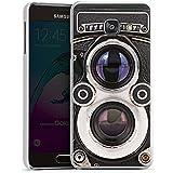 Samsung Galaxy A3 (2016) Housse Étui Protection Coque Caméra Photographie Rétro