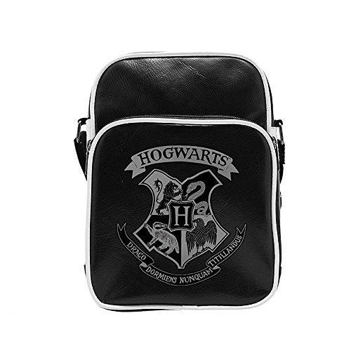 Harry Potter - Schultertasche - Messenger Tasche - Hogwarts Wappen - Logo