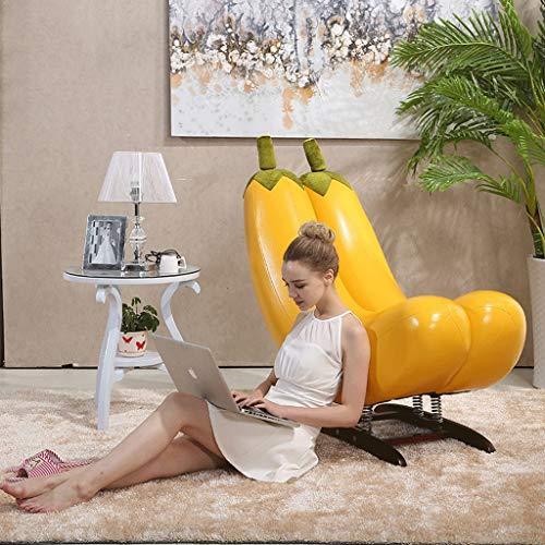 YYHSND Sessel faul Couch, Bananenschaukelstuhl, Balkon Sofa Sitzsack (Color : Yellow) | Wohnzimmer > Stüle | Stoff | YYHSND