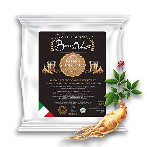 Caffè Italiano Bocca Della Verità GINSENG löslich - Pack mit 500 gr