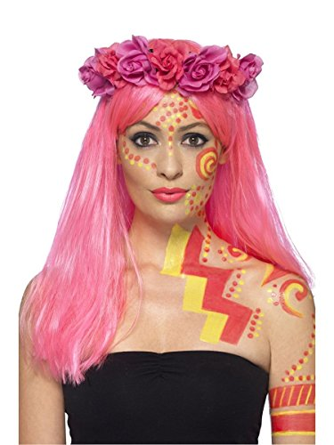 Face Body Paint Kit - Neon Liquid Latex - Erwachsene Kinder - Ideal für Festivals, Karneval, Fasching, Parties, Halloween, Innen-, Motto Party Fun 46221