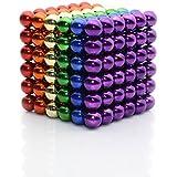 Juguete de escritorio de 3 cm Puzzle Cube, desarrollo de inteligencia y alivio de estrés - Seis colores al azar