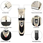 Sminiker Pet Grooming Clippers Low Noise Dog Clippers Cordless Pet Clippers Rechargeable Pet Hair Shaver Professional… 16