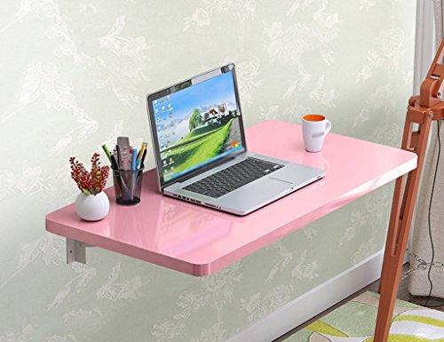 ZXLDP Wand-hängende Tabelle Lern-Tabellen-Speisetisch Wand-angebrachtes Laptop-Schreibtisch-Farbe Faltbarer...