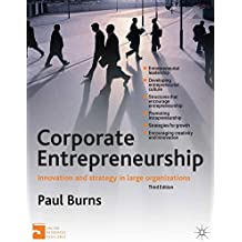 Corporate Entrepreneurship: Innovation and Strategy in Large Organizations