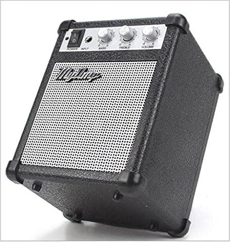 AN-LKYIQI Black Retro Modeling Guitar Combo Amplifier Fidelity Portable Speakers