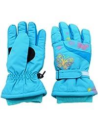 Arcweg Guantes de esquí para niña Guantes de Invierno Forrados de Felpa  Impermeables y térmicos de e69671416c2