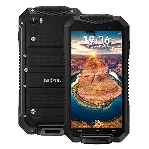 Geotel A1 Smartphone resistente - Pantalla de 4,5 pulgadas, IP67, Android 7.0,...