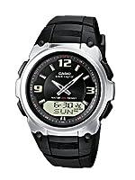 Reloj de caballero CASIO WVA-109HE-1BVER de cuarzo, correa de resina color negro (con radio, cronómetro, alarma, luz) de Casio