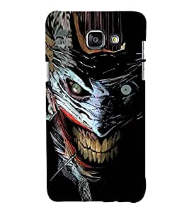 Scary Character Hard Polycarbonate Designer Back Case Cover for Samsung Galaxy A7 (2017) :: Samsung Galaxy A7 (2017) Duos :: A720F/DS (Global Dual-SIM) :: A720F (Global Single-SIM)
