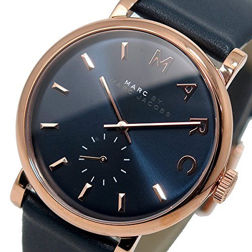 Marc Jacobs Damen-Armbanduhr Analog Quarz Leder MBM1329