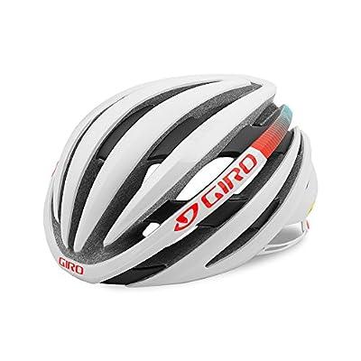 Giro - Ember Mips Road Womens Helmet , Matt White/Turquoise/Vermillion from Giro
