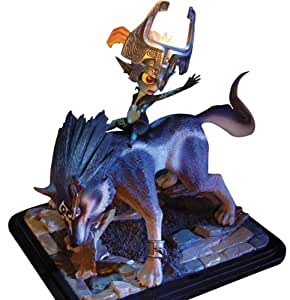 First 4 Figures - Statue Link Loup et Midona 1/4