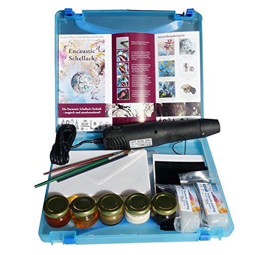 encaustic-goma-laca-gran-regalo-set-con-muchos-accesorios