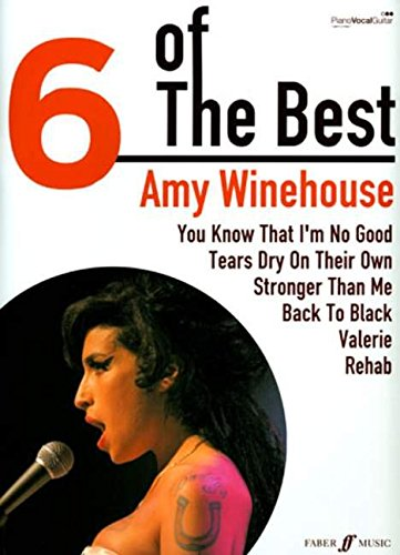 6 OF THE BEST AMY WINEHOUSE: (Piano, Vocal, Guitar) (Six of the Best)