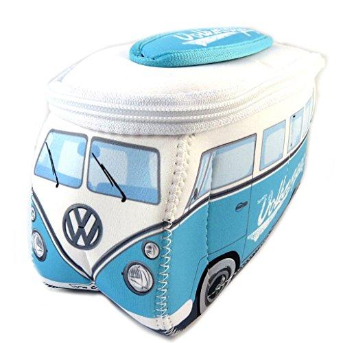 Volkswagen [P1125] - Trousse de Toilette 'Volkswagen' Bleu Blanc - 23x13x7.5 cm