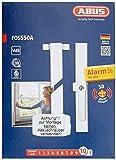 ABUS Fenster-Stangenschloss FOS550A mit Alarm gleichschließend, weiß, 07299 Test