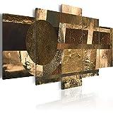 murando - Bilder 200x100 cm - Vlies Leinwandbild - 5 Teilig - Kunstdruck - modern - Wandbilder XXL - Wanddekoration - Design - Wand Bild - Abstrakt - Wie Gemalt a-A-0235-b-p