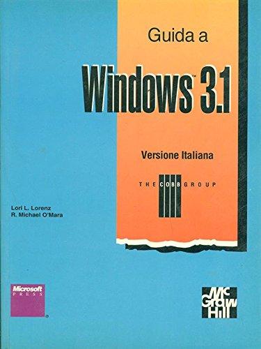Guida a Windows 3. 1 (Informatica) por L. L. Lorenz