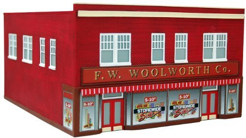 fw-woolworth-co-ho-scale-train-building-by-imex