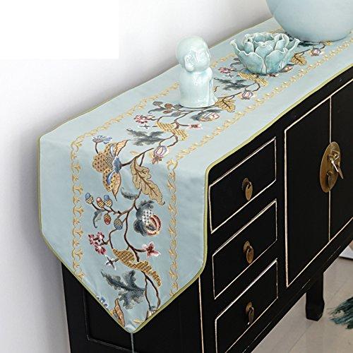 Chinesisch-art tischläufer/exquisit,mode,mosaik-tisch-flagge/bett-runner/tischläufer-A 30x200cm(12x79inch)