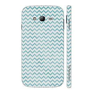 Enthopia Designer Hardshell Case Chevron Blue N White Back Cover for Samsung Galaxy On7