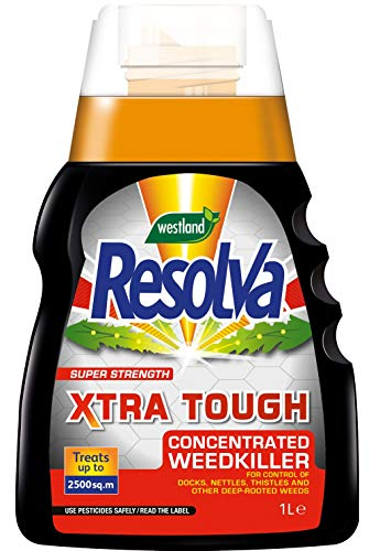 Resolva Xtra Tough Concentrated Weed Killer, 1 Litre