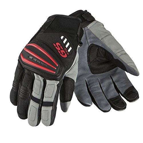 BMW-Motorrad Rallye-Handschuhe Sommer Farbe schwarz/grau/rot 11-11,5