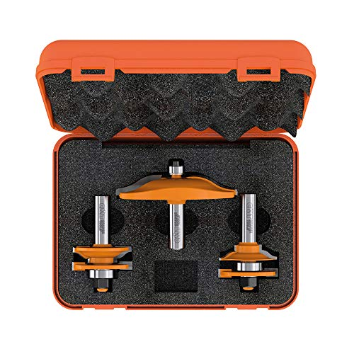 CMT Orange Tools 900.516.11-ESTUCHE 3Fräser HM S 12Küchen (perf. D)