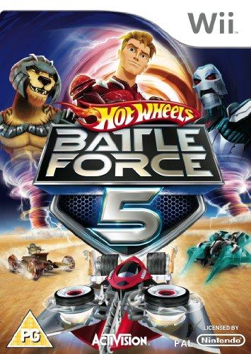 Hot Wheels: Battle Force 5 [UK Import] (Wii Hot Wheels Spiel)