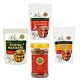 #9: Sattvikko Pudhina Makhana + Peri Peri Makhana + Herb & Cheese Makhana + Paan Raisin