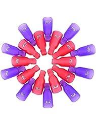 eBoot Acrylique Tremper Capuchon Art de Clou Clip UV Gel Enlever Polonais Enveloppe outil