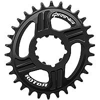 rotor Q Direct Mount Q Anillo de Dientes, para SRAM BB30Montaje Directo, Negro, 34