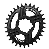 rotor Direct Mount Q-Ring, 32 Zähne, Für Sram Bb30 Direktmontage, Schwarz