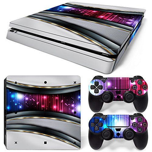 Faceplates, Decals & Stickers Xbox One Skin Design Foils Aufkleber Schutzfolie Set White Alu Motiv Perfect In Workmanship Video Game Accessories