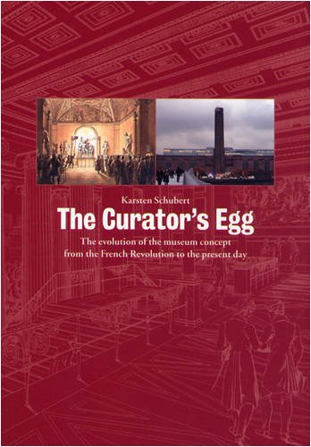 The Curator's Egg: The Evolution of the Museum Concept from the French Revolution to the Present Day por Karsten Schubert