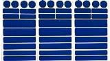 UvV-Reflex Sticker - Reflektoren 42 Stück Light Reflex Reflektor für Buggy, Kinderwagen, Gehstock, Bikes, Hel